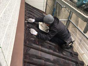 屋根工事漆喰_さいたま市